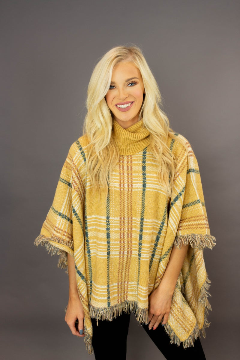 Meet Me At The Orchard Poncho