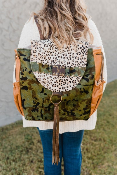 The Kyra LV Upcycled Backpack
