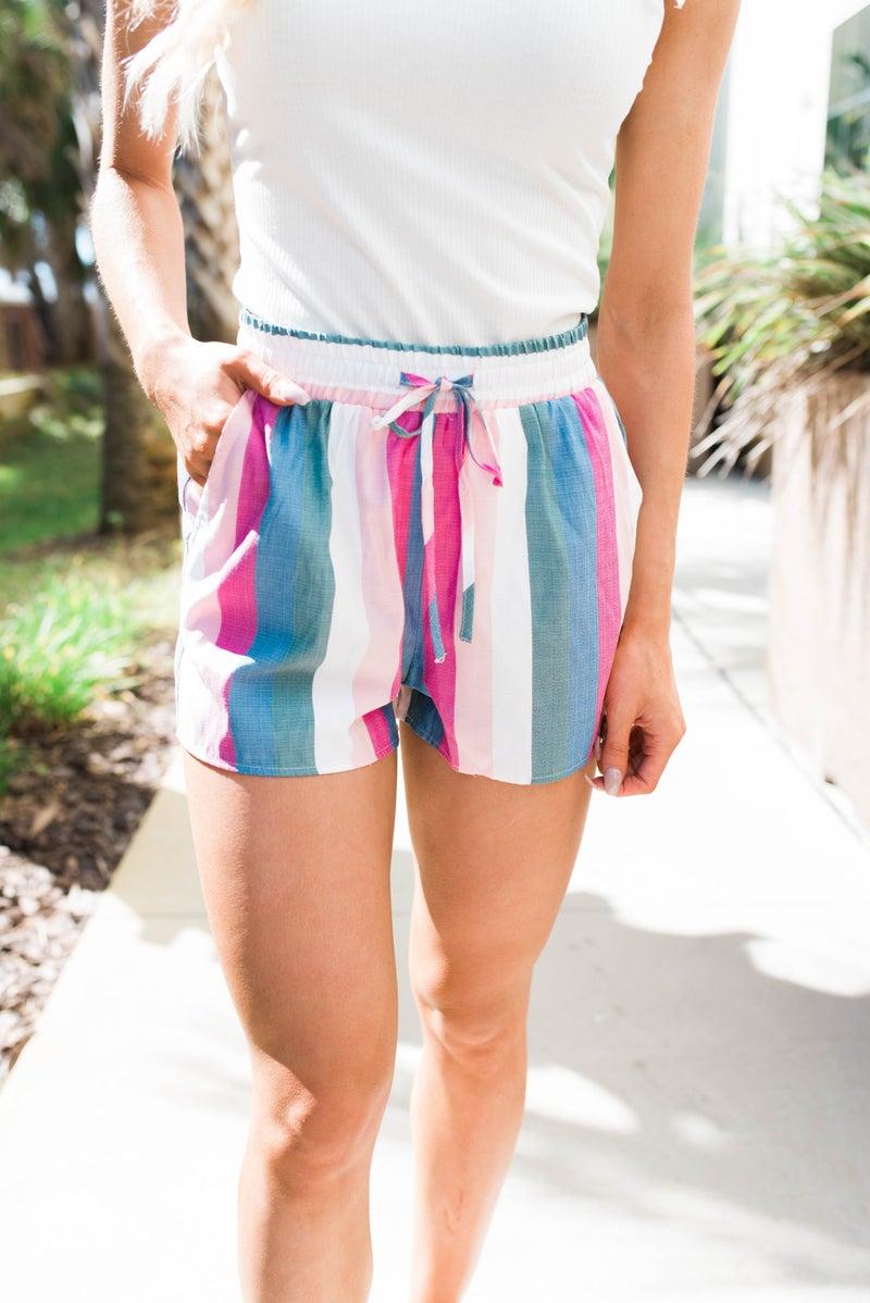 The Santa Rosa Stripe Shorts