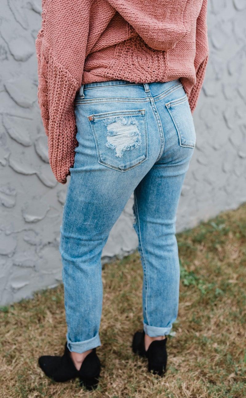 Judy Blue - Best Selling Boyfriend Fit Jeans