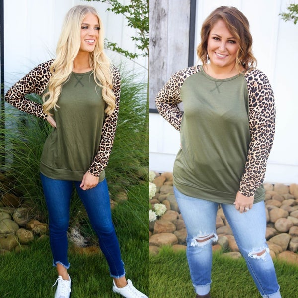 Olive Cheetah So Much *Final Sale*
