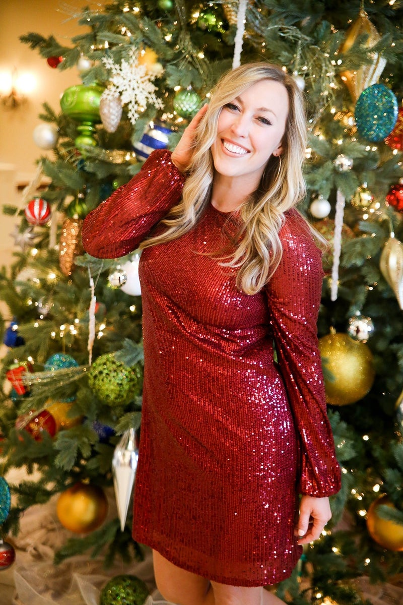 Holiday Glam Dress