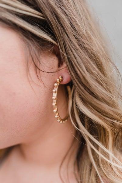 The Melody Circle Hoop Earrings