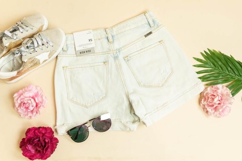 The Hazel Denim Shorts