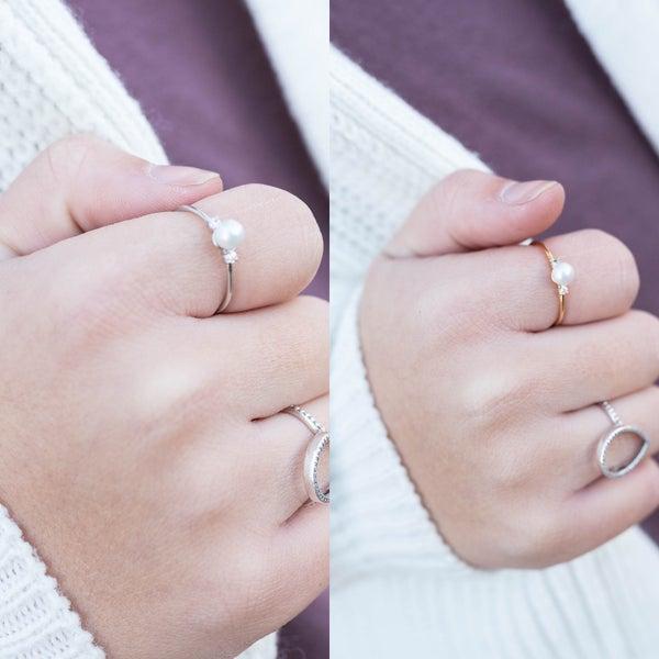 Pearls Secret Box Ring