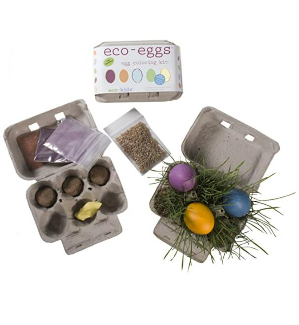 Eco-Kids Eggstraordinary, All-Natural Egg Coloring Kit