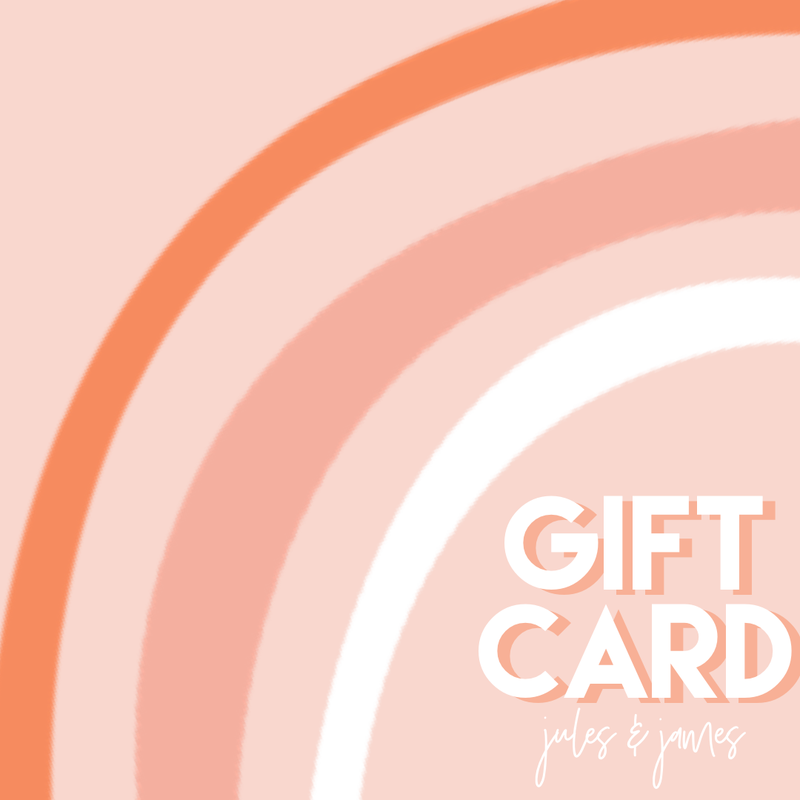$10 Jules & James Gift Card