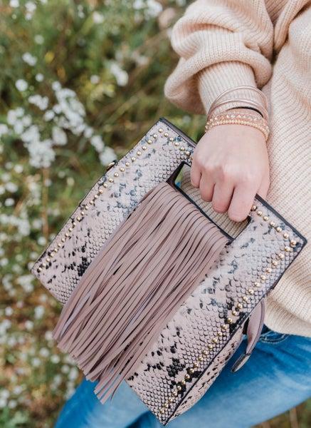 Just a Little Tassel Handbag