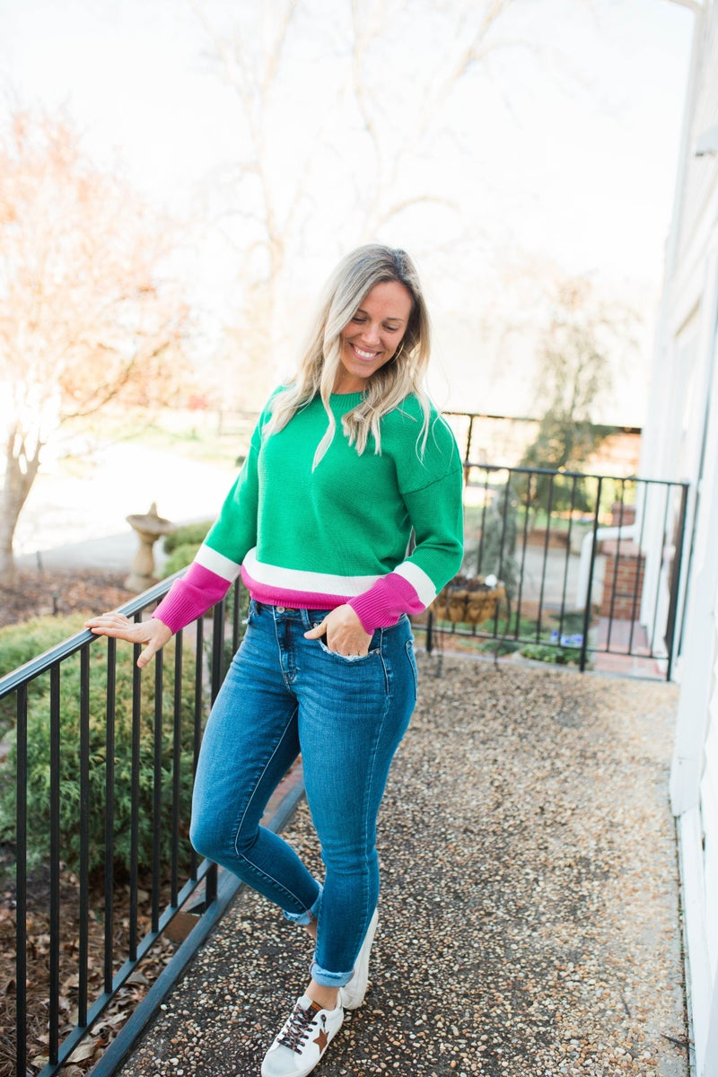 Hoping For Spring Sweater
