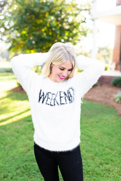 All About the Weekend Sweater
