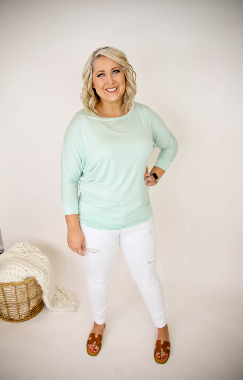 Pretty In Pastel Plus Only Top