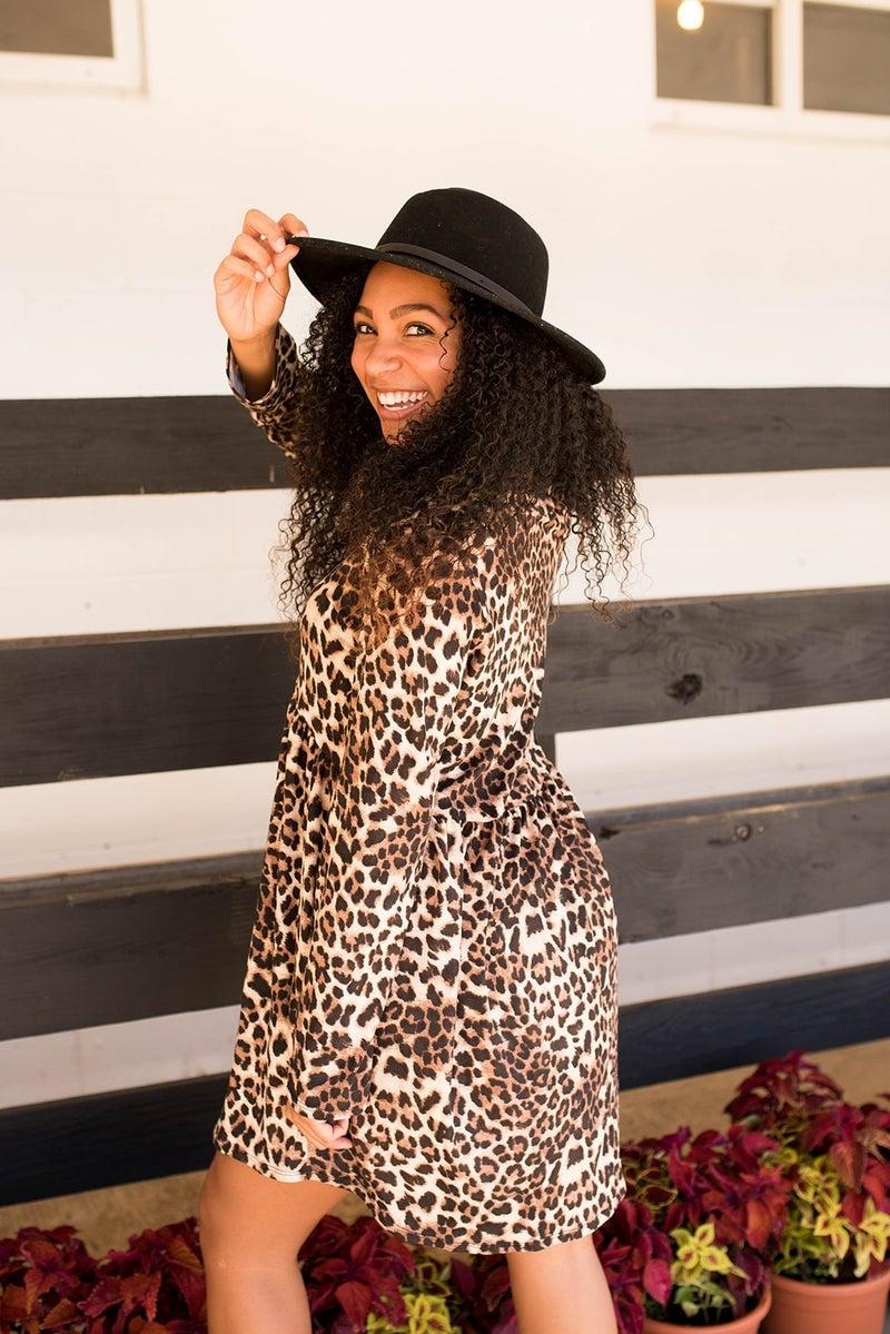That Perfect Cheetah Dress
