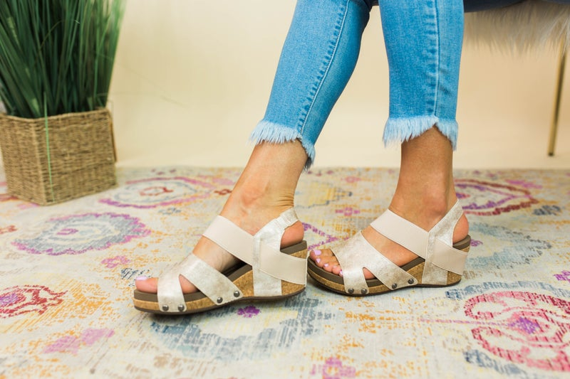 Time To Shine Corky's Wedges