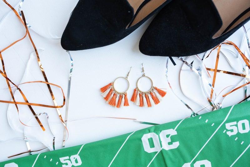 Game Day Tassel Earrings *Final Sale*