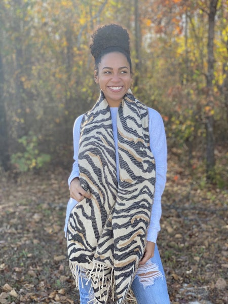 Winter Safari Scarf