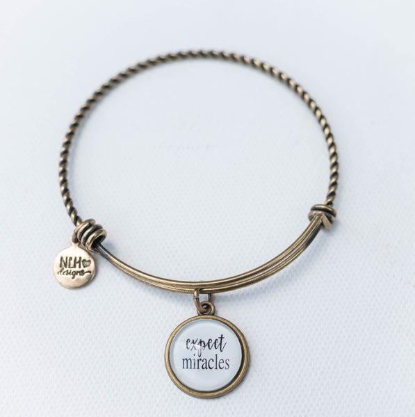 Bangle Bracelet Expect Miracles