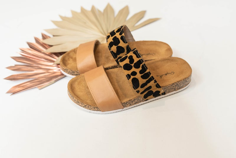 Slide My Way Sandals