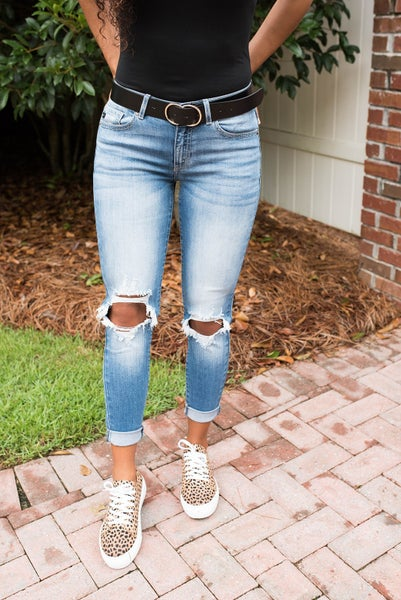 Lena Mid Rise KanCan Jeans