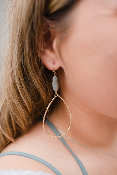 The Katelynn Teardrop Earrings