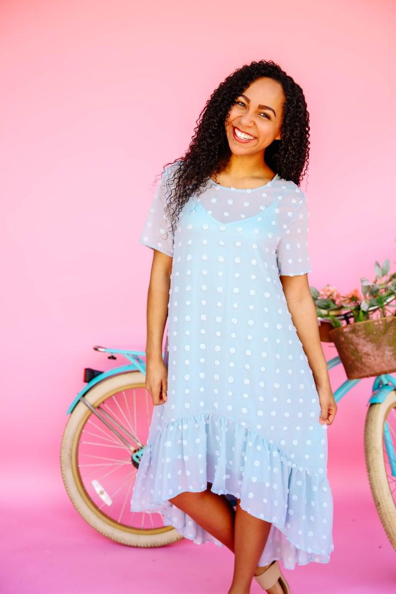 Dots on Dots Dress