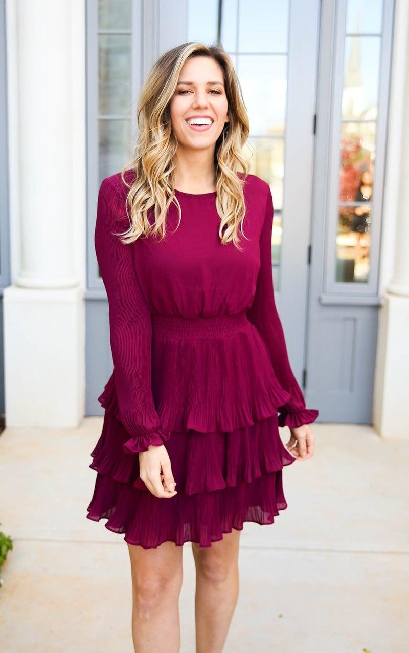 Cranberry Crush Dress