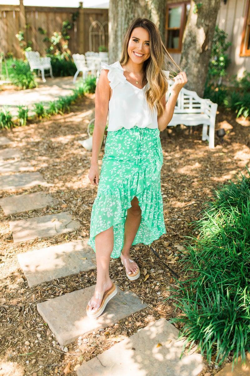 Brunch Babe Floral Skirt