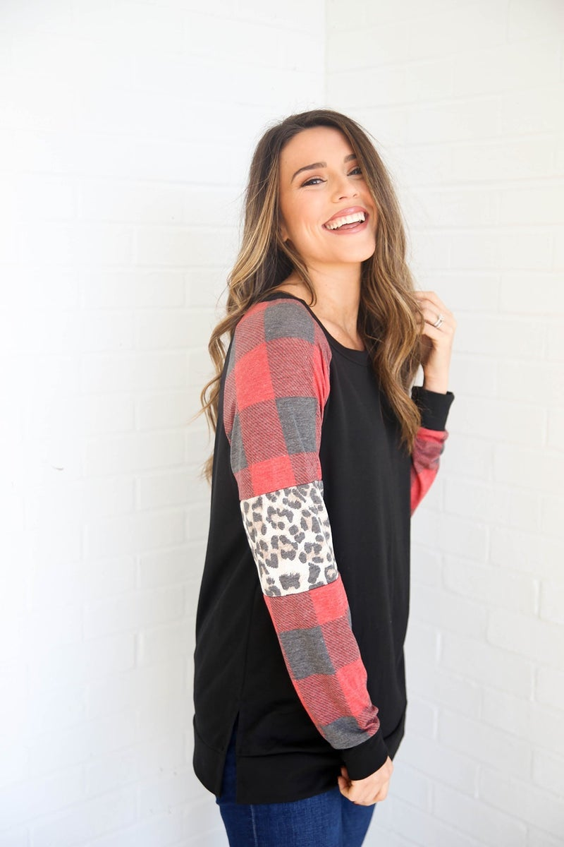 Mix it Up in Prints Top