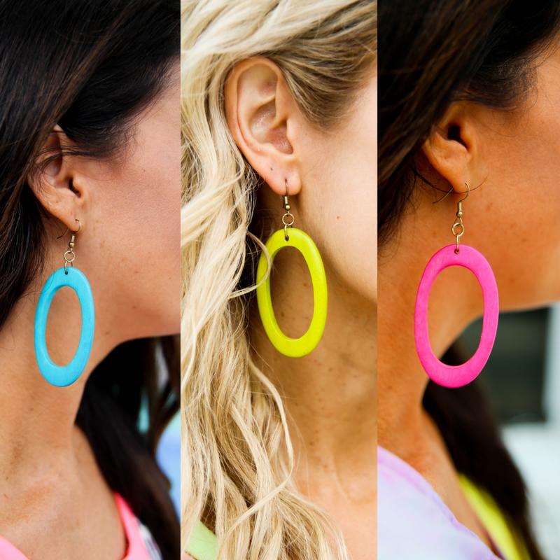 It's Sunny in Florida Earrings