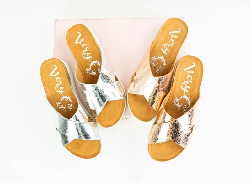 Time To Shine Sandals *Final Sale*