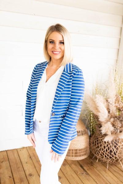Girl Boss Striped Jacket
