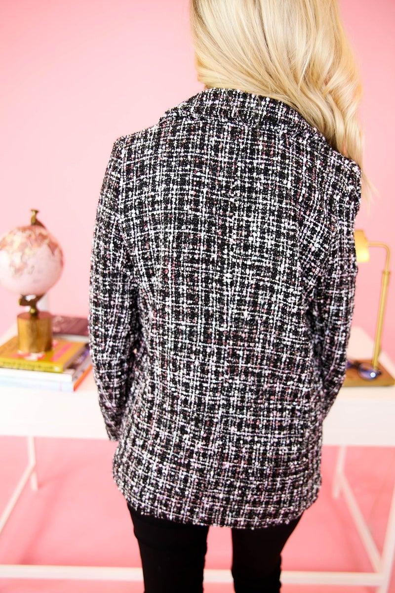 Boss in Tweed Blazer