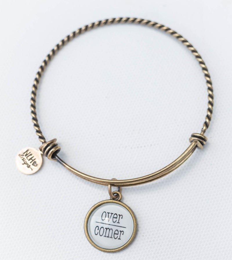 Bangle Bracelet Overcomer