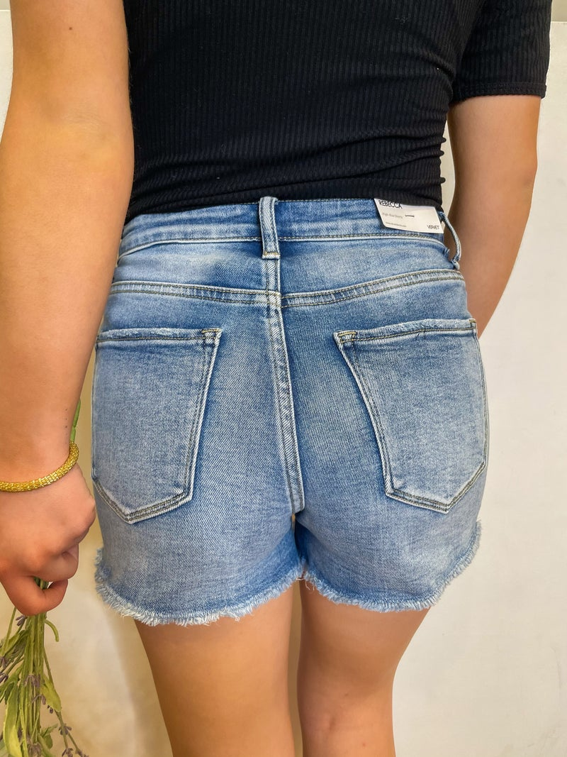 Days in the Sun High Rise Vervet Shorts