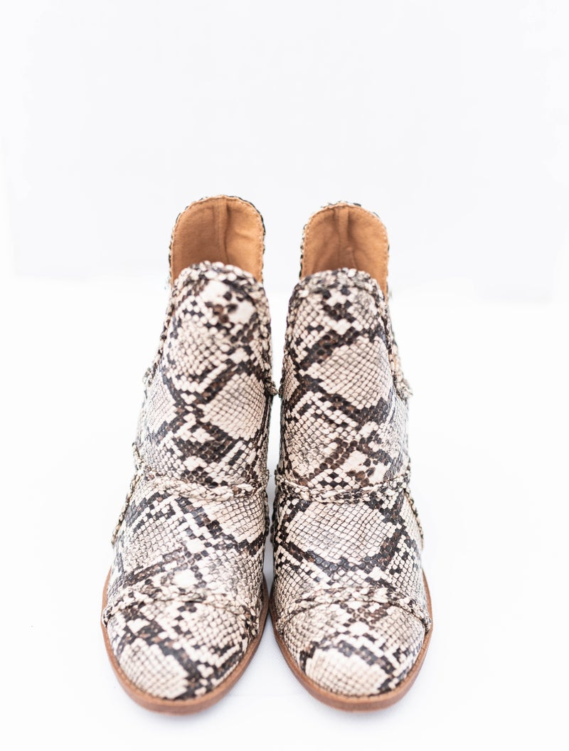 Walk on the Wild Side Booties