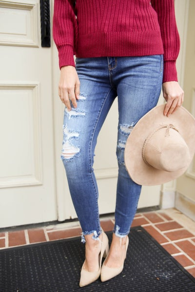 The Abbey Judy Blue Skinny Jeans