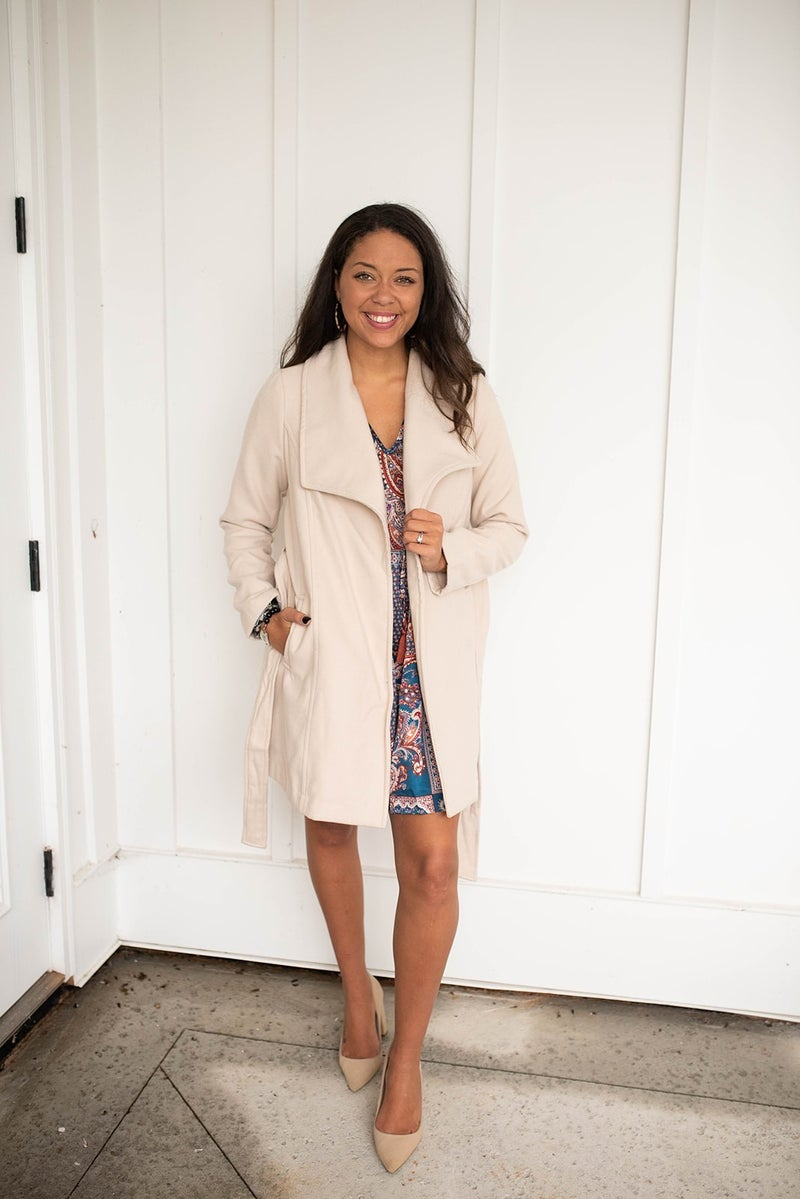 Fall in New England Coat