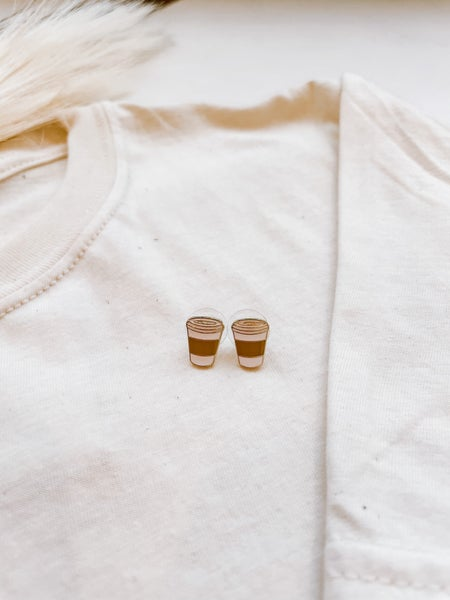 But First Coffee Earrings