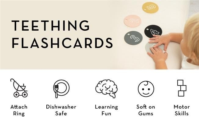 Teething Flash Cards