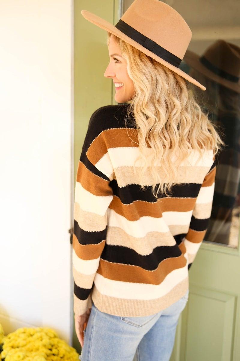 Retro Heart Sweater