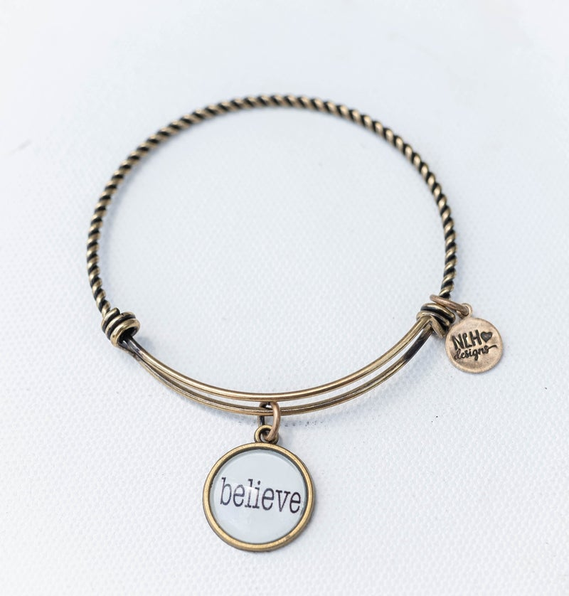 Bangle Bracelet Believe