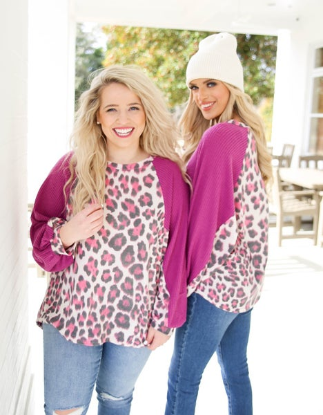 Dreaming in Color Cheetah Top