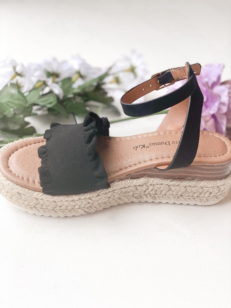 The Carly Kid's Espadrille Sandals