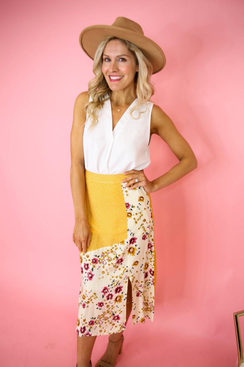 Floral Fever Skirt