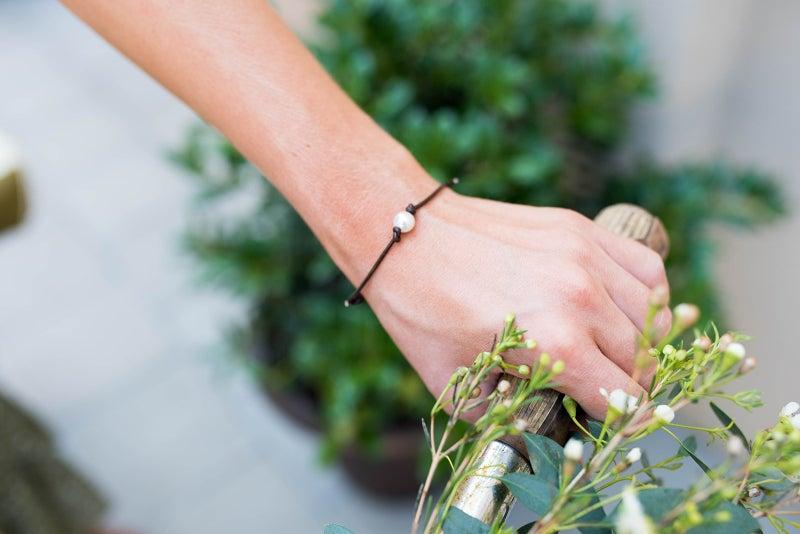 Wildwood Charm Pearl Bracelet