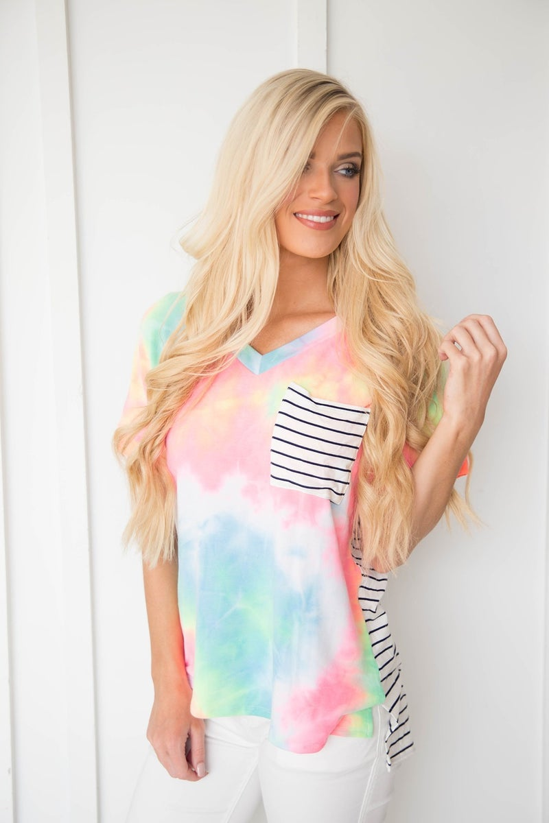 Candy in Stripes Top