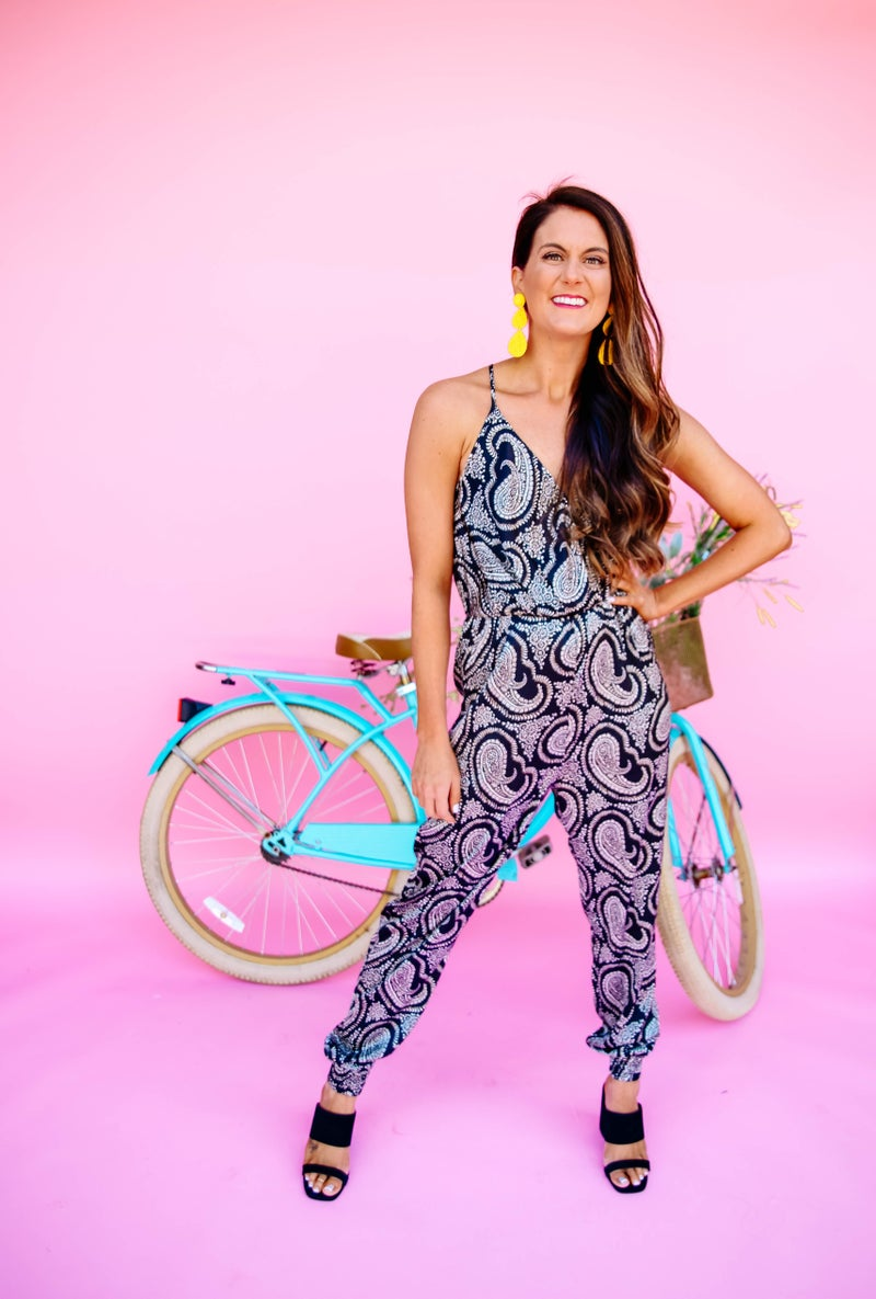 Perfect in Paisley Jumpsuit *FINAL SALE*