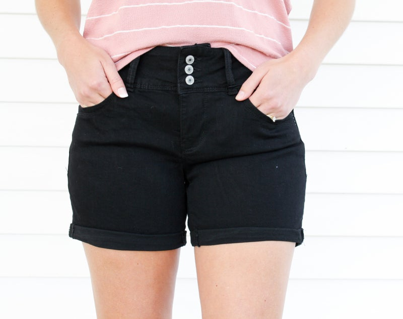 New Arrival Black YMI Shorts