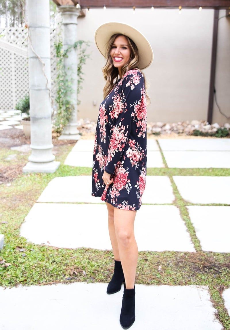 Something's Blooming Floral Dress
