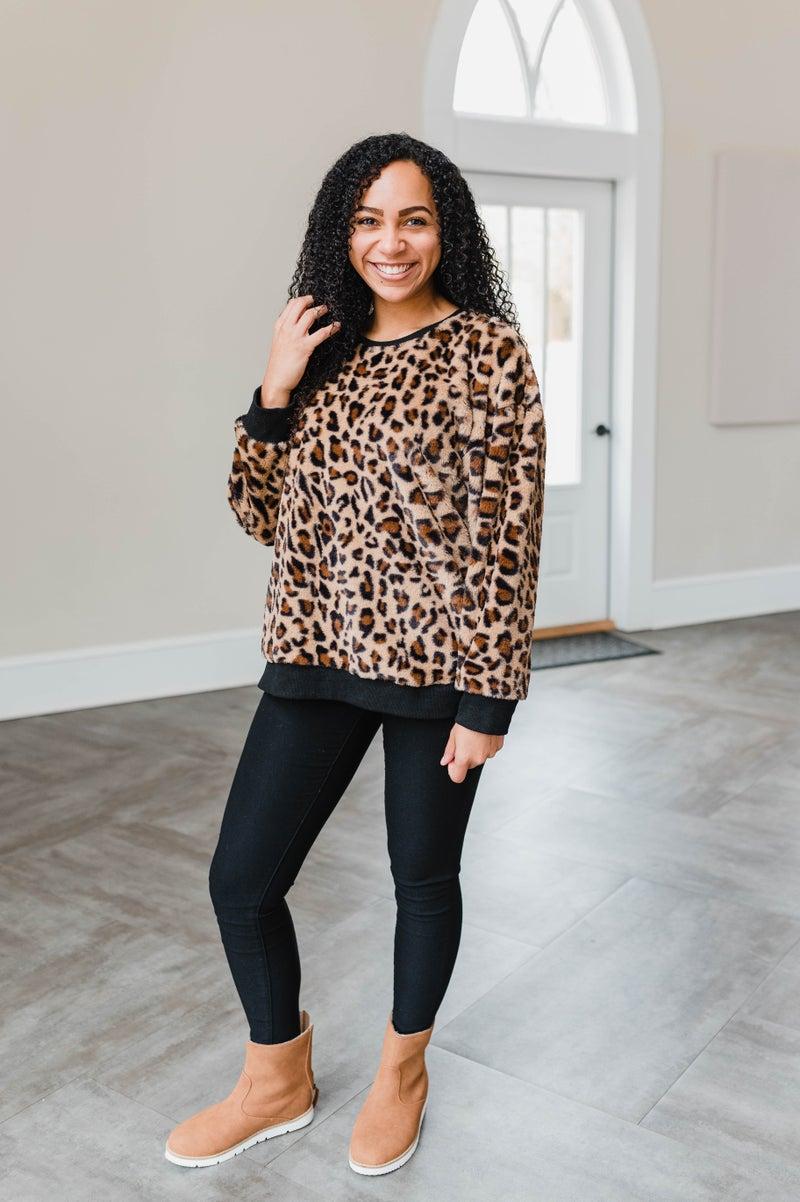 Dreaming in Cheetah Top