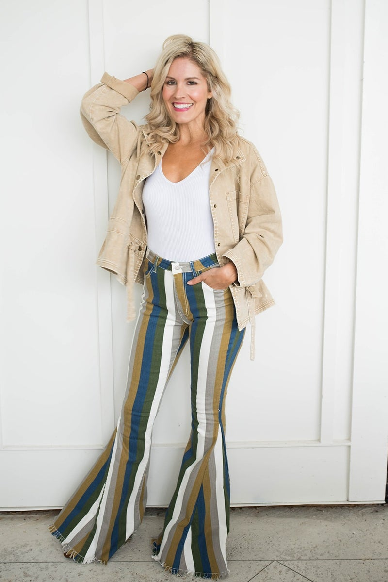 Hey There Delilah Flare Pants